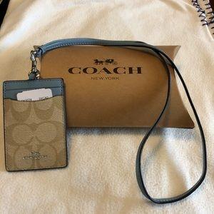 Coach Lanyard NWT